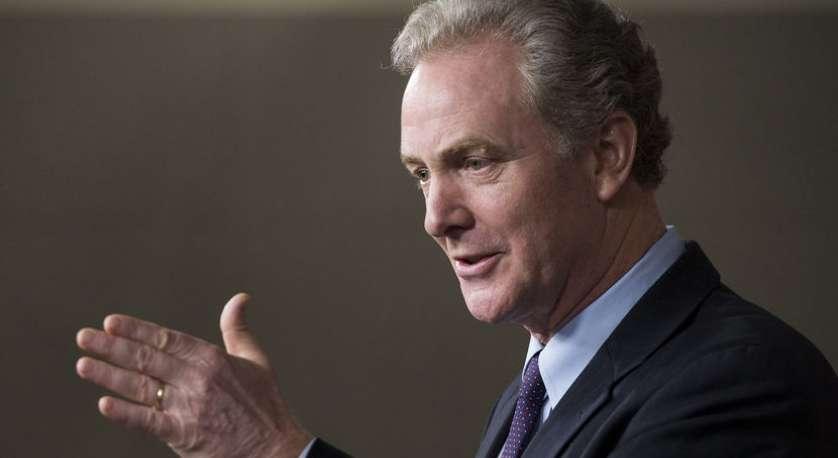headshot of Senator Chris Van Hollen