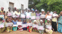 Women's literacy class in the Democratic Republic of the Congo